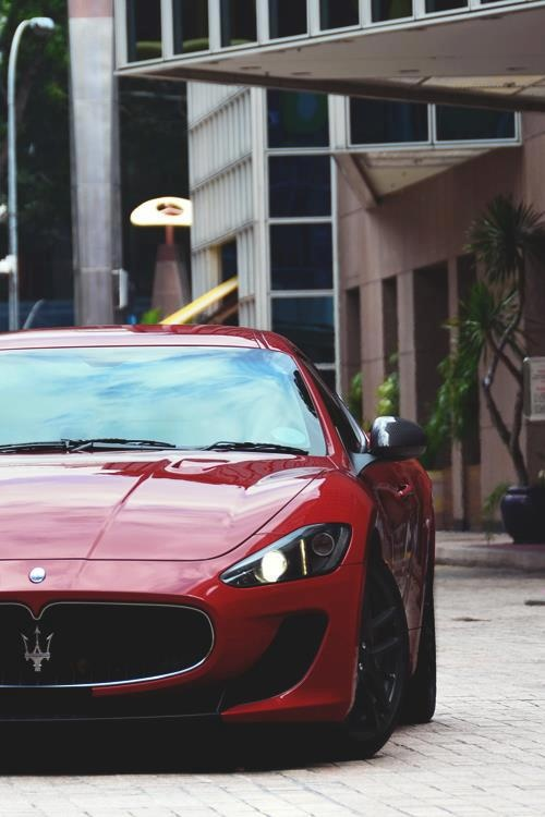 Maserati that King Lear would be seen driving
