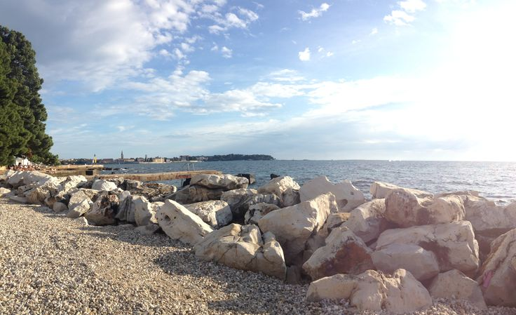 Beach with a view. :)  #Poreč #Parenzo #Pical #Istria #Istra #Croatia #CroatiaFullOfLife #CroatiaFullOfBeaches #Kroatien #Beach #visitIstria #shareIstria