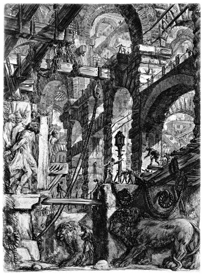 "Juxtapoz Magazine - Piranesi's ""Imaginary Prisons"""