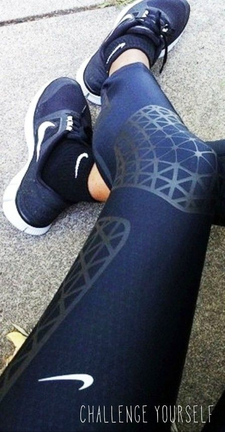 workout outfit inspiration! #cheap #nike #free