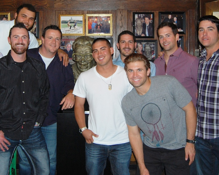 We were visited by a slew of Minnesota Twins players last night for dinner. They are in town for a series against the Chicago White Sox, which begins on Tuesday.: Sports Team, Twin Players, Minnesota Twin, Minnesota Sports, Chicago White Sox, Role Models