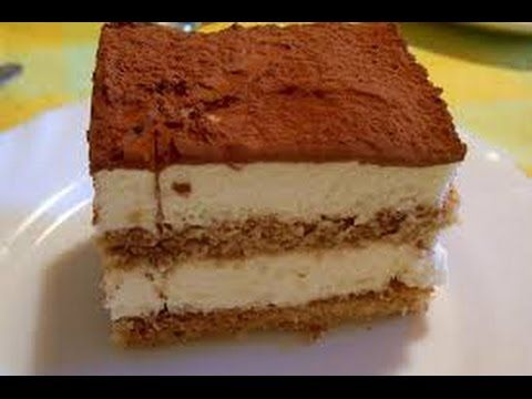 Receta: Tiramisu Casero (Facil Y Rapido) - Silvana Cocina Y Manualidades - YouTube