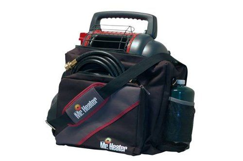 Mr. Heater Portable Carry Bag for staying warm camping in a tent with tips to stay warm when camping