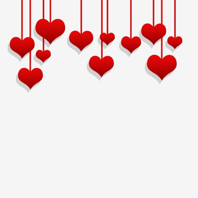 Valentine Heart Hanging Background Valentines Day Clipart Valentines Wallpaper Valentines Day Background