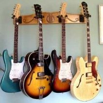 Pro-File Wall Mounted Guitar Display
