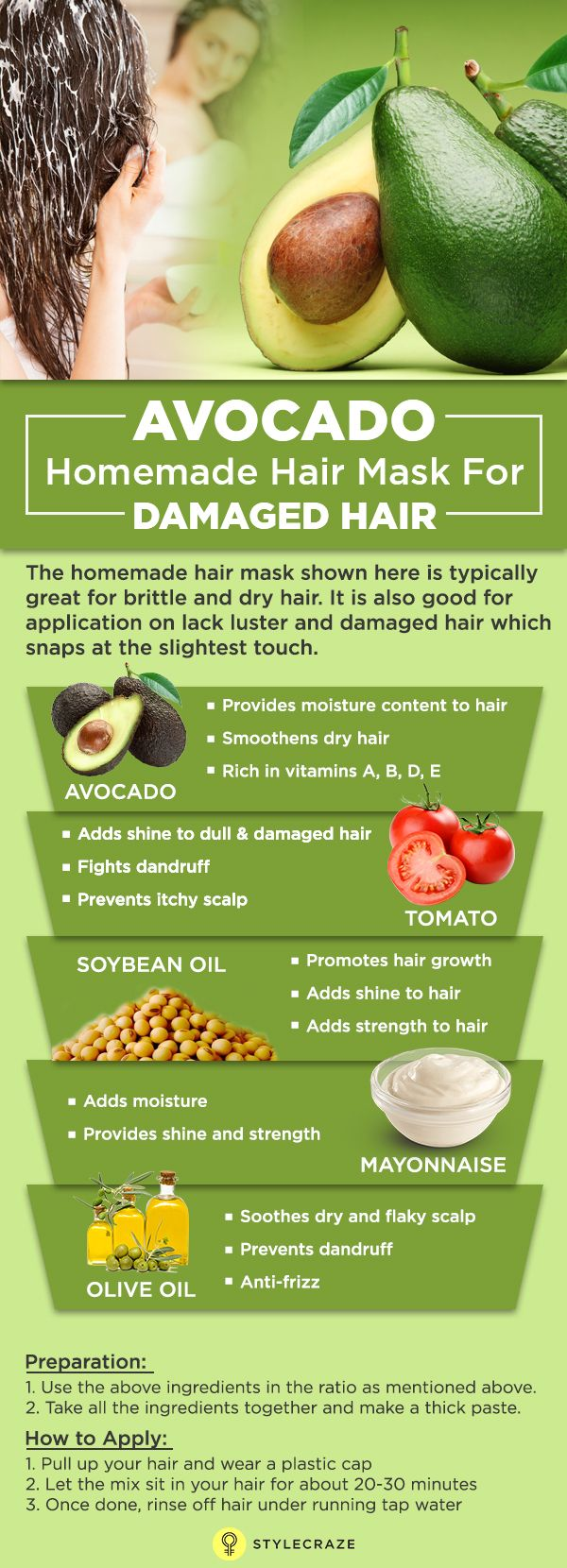 how to use avocado for dry and damaged hair avocado hair mask frizzy hair and hair masks. Black Bedroom Furniture Sets. Home Design Ideas