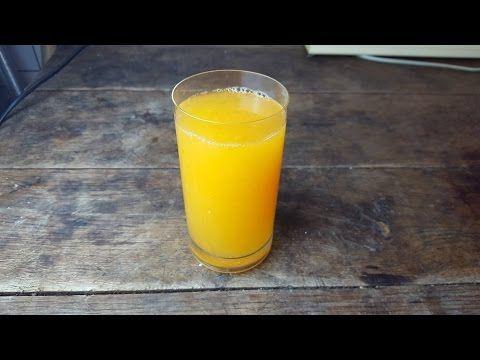 Nepravý pomarančový džús (videorecept) - Recept