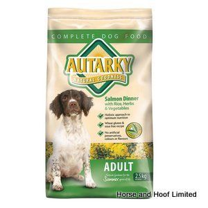 Autarky Salmon Adult Dog Food 2 5kg Autarky with Salmon Adult Dog Food is especially useful when feeding sensitive dogs or those that have a rough coat.