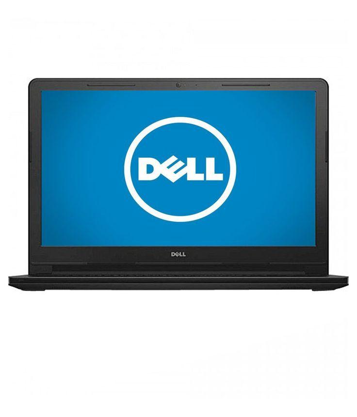 Dell Vostro 3558 Notebook (4th Gen Intel Core i3- 4GB RAM- 500GB HDD- 39.62cm (15.6)- Ubuntu) (Black)
