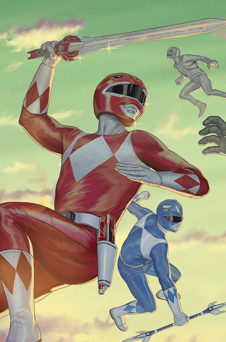 Mighty Morphin Power Rangers by Steve Morris