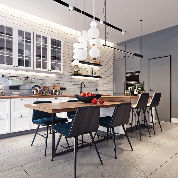 Kitchen Studio ApartmentsSmall ApartmentsHome DesigningApartment Interior
