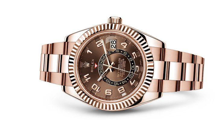 Reloj Rolex Sky-Dweller: Oro Everose de 18 quilates – 326935