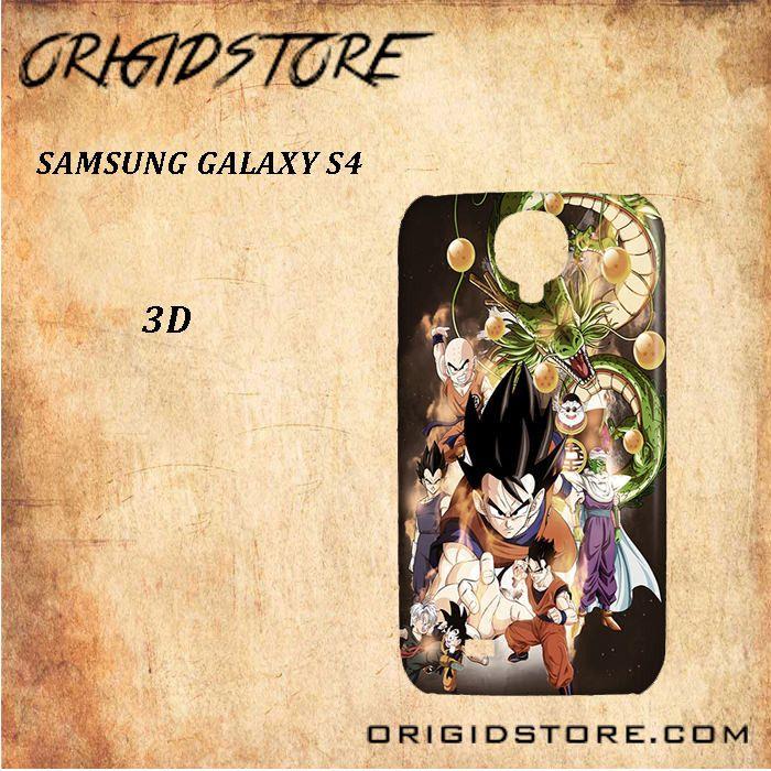 Dragon Ball Z Snap On Samsung Galaxy S4 Case 3D Samsung Galaxy S4 Case Transparent Case