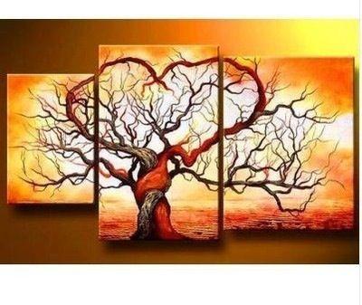 Tree/Heart painting