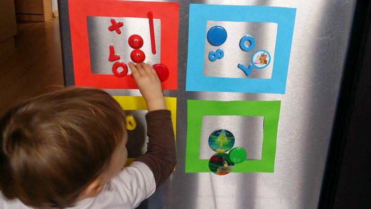 Tominowo: Uczymy się kolorów. Ramki i magnesy.