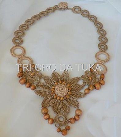 ₩₩₩ Crochet necklaces - charts