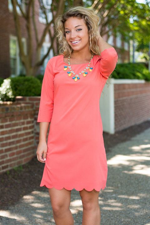 """""""Amore To Love Dress, Coral"""""""