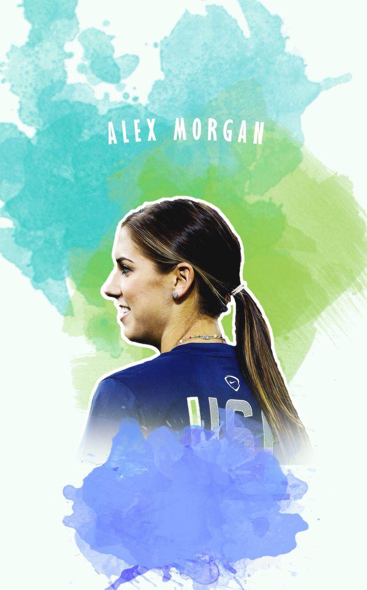 Alex Morgan Iphone 5 Wallpaper