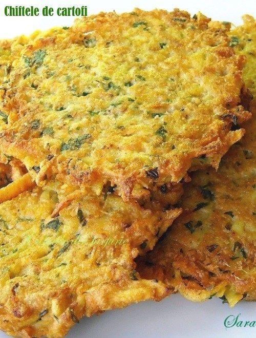 Chiftele de cartofi– Rösti, sunt bune atat ca aperitiv, mic dejun sau garnitura.