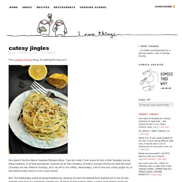 Lemon Garlic Spaghetti