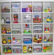 This Cube Unit Lets The Little Ones Easily See Which Toys They Want To Play With Today Clear Bo For Small Items Open Shelves Make Organizing Easy