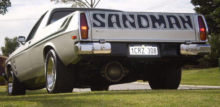 Sandman ute