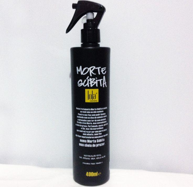 Garotas Enxaqueca: spray morte súbita | reparação total - Lola Cosmetics