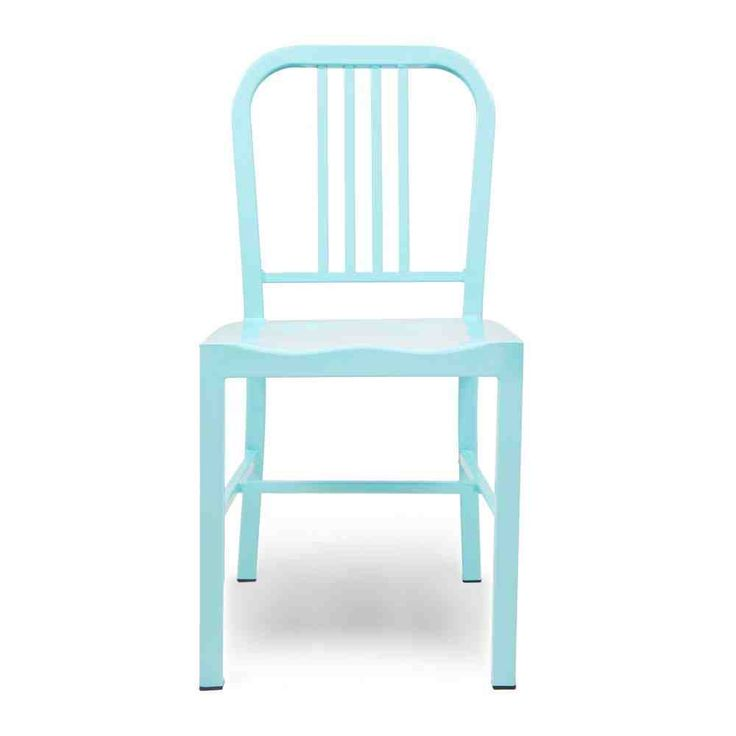 Blue Metal Dining Chairs 14 best metal dining chairs images on pinterest | metal dining
