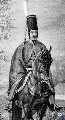 Рядовой Мариупольского гусарского полка, 1802-1803 годы.