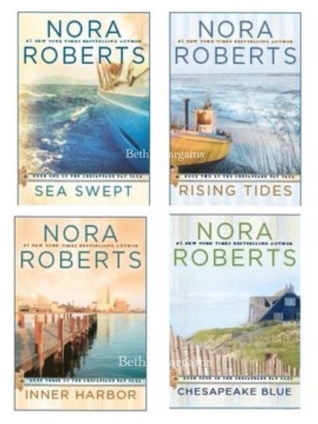 Nora Robert's Chesapeake Bay Saga follows the Quinn Brothers and their stories.