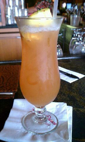 Tropical Macaw Parrot Bay Coconut Rum, Midori Melon Liqueur, and Pineapple and Cranberry Juice 8.75