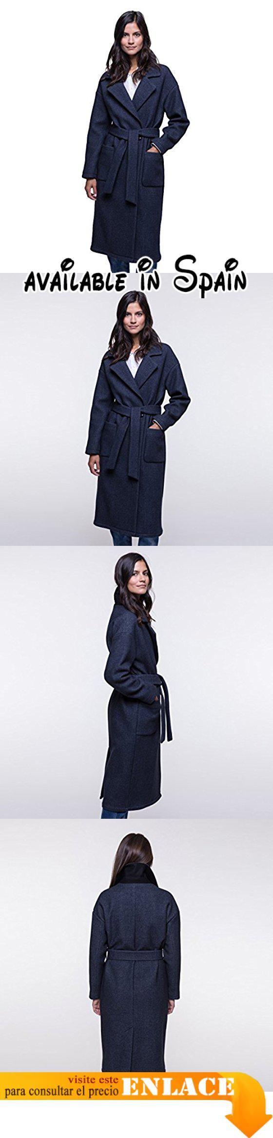 B076J881SK : Trench and Coat - Abrigo - para mujer azul 36 .