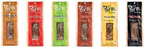 Primal Strips Meatless Vegan Jerky Best Tasting Vegan Sn Vegan Jerky Vegan Snacks Plant Based Protein