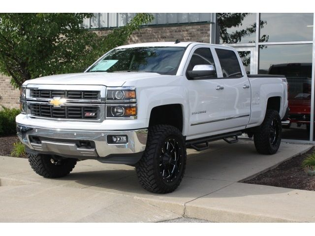 2014 chevy silverado white lifted - Google Search