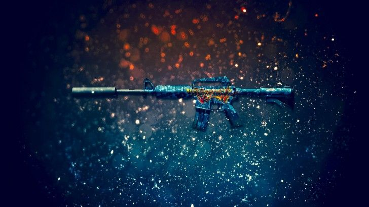Download M4A1 S Master Piece Rifle Counter Strike Global Offensive Weapon Skin 1920x1200