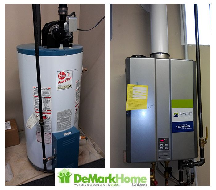 Hvac Before After Gallery Water Heater Heater Hvac