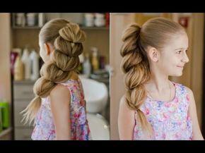 Как сплести косу, как у принцессы Жасмин - YouTube