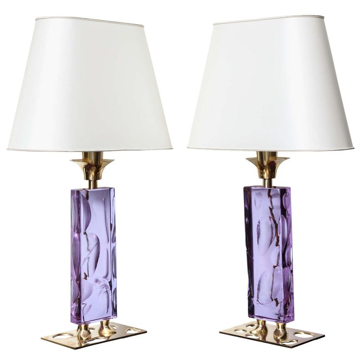 """Elfo,"" Unique Pair of Table Lamps by Roberto Giulio Rida | 1stdibs.com"
