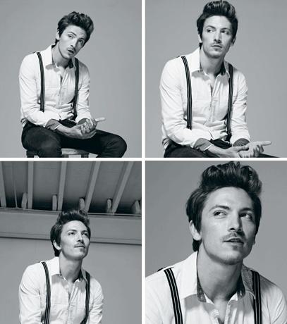 Tyler James for Republic Magazine - Mens - Kenny Leung Make Up & Hair