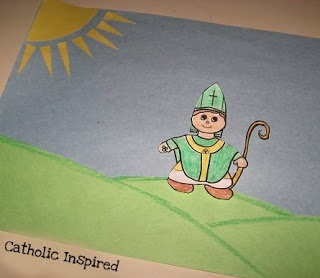 St. Patrick's Day Art Project, Coloring Page or Bulletin Board! | Catholic I…
