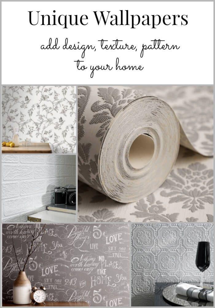 unique wallpaper ~ not your grandmas's paper