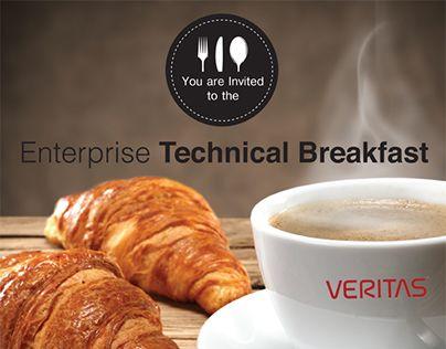 "Check out new work on my @Behance portfolio: ""{ Enterprise Technical Breakfast…"