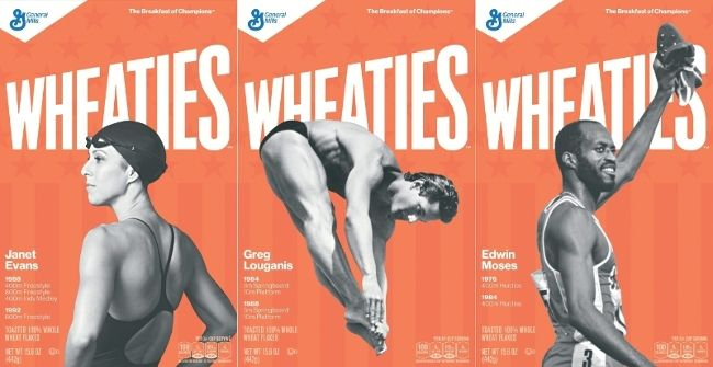 Janet Evans, Greg Louganis to Appear on Wheaties Box