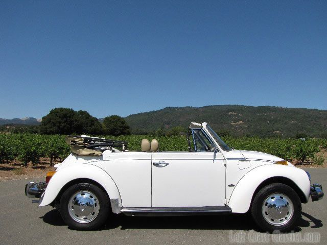 1978 VW Bug Convertible