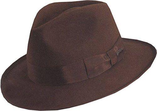 Morris Costumes Indiana Jones Deluxe Hat Xlarg @ niftywarehouse.com #NiftyWarehouse #IndianaJones #GeorgeLucas #HarrisonFord #Movies