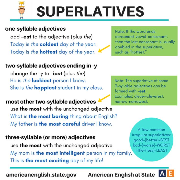 90 Best Comparatives And Superlatives Images On Pinterest Learning