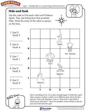 hide and seek free critical thinking worksheet for kids elem math teaching social studies. Black Bedroom Furniture Sets. Home Design Ideas