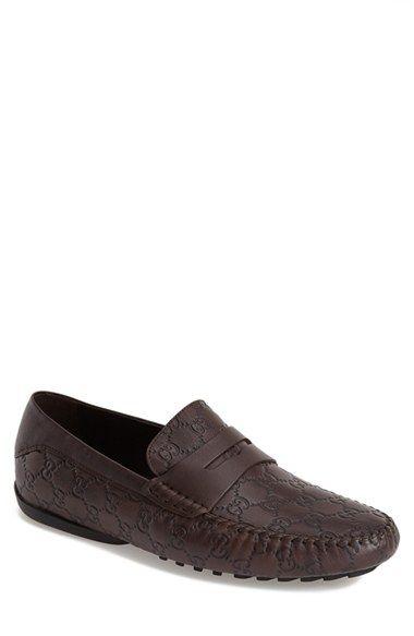 Men's Gucci 'San Marino' Driving Shoe