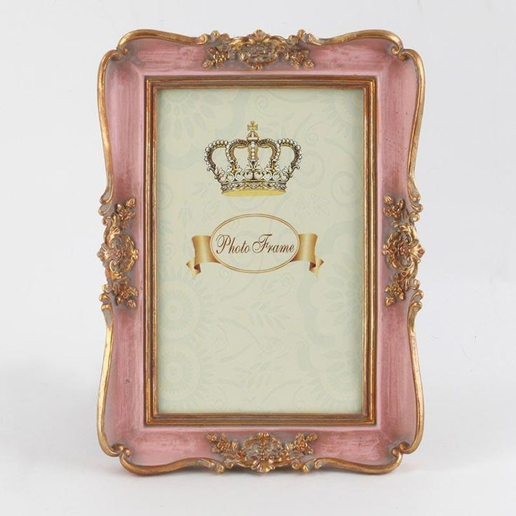 Beautiful #frame in #antique pink/gold color. www.inart.com