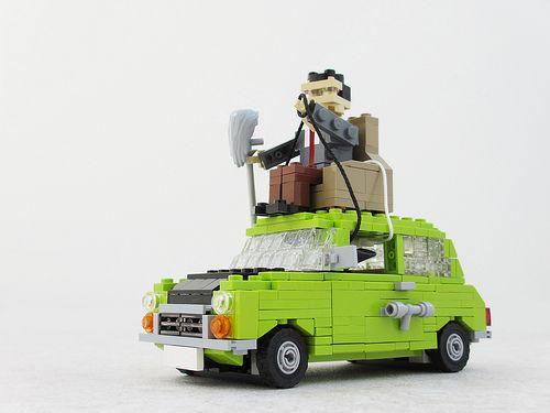 Mr. Bean #LEGO
